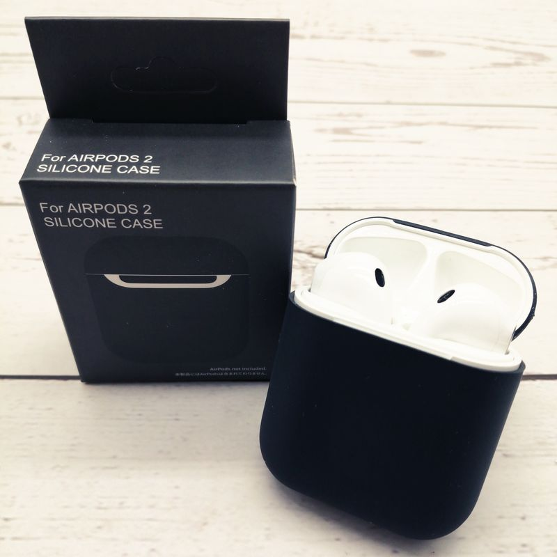 Силиконовый чехол Original для Apple Airpods 1/2.